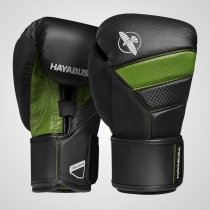 T3 Boxing Gloves Black/Green