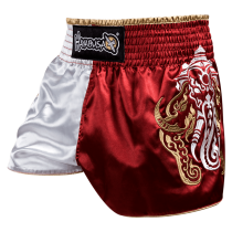 Elephant Muay Thai Shorts Red