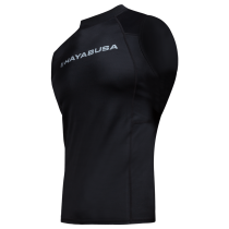 Haburi Sleeveless Rashguard Black