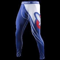 Recast Compression Pants - Blue/White