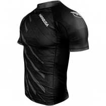 Metaru Charged Rashguard Short Sleeve Black